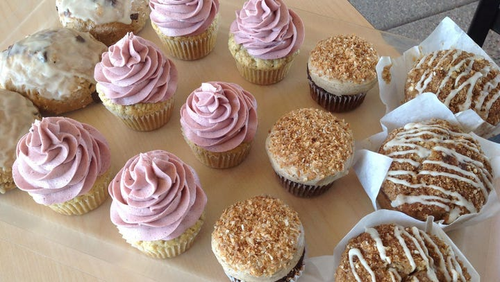 CUTTING BOARD BAKERY & CAFE: | Cupcakes, scones, date