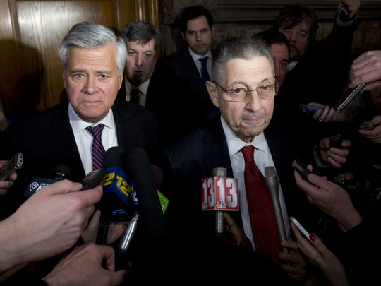 Then-Senate Republican leader Dean Skelos, R-Rockville
