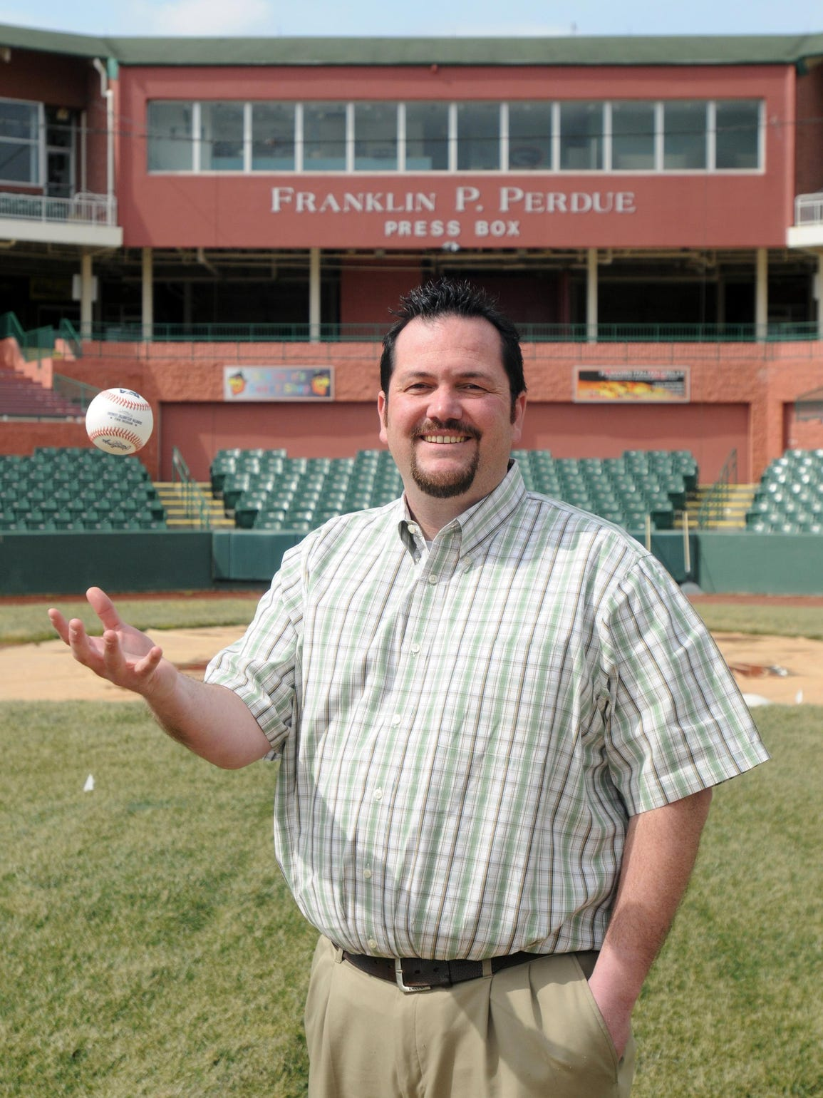 Chris Bitters of 7th Inning Stretch has been the Shorebirds'