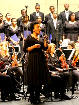 The Black Voices of Inspiration gives eight to 10 performances a year, and the community is invited.