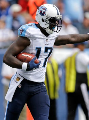 Dorial Green-Beckham is now one of the Titans' most experienced receivers.