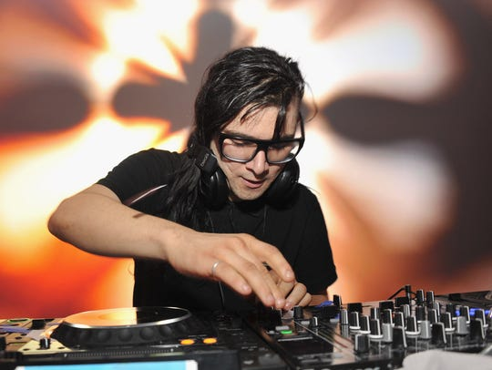 Skrillex will perform May 26 at Indianapolis Motor Speedway.