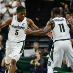 Izzo trying to juggle Michigan State's point guards for maximum impact