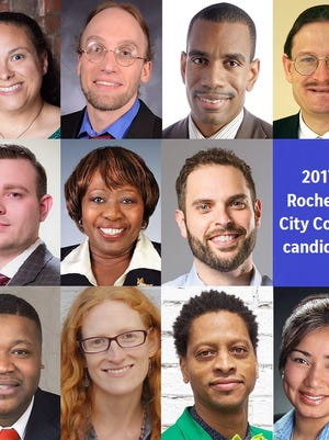 City Council at-large candidates for the 2017 general election.