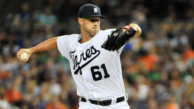 Tigers' Shane Greene was unavailable to pitch Tuesday in Seattle because of a muscle strain.
