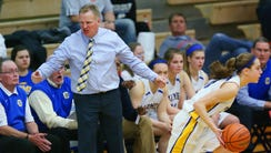 Carmel coach Tod Windlan reacts to what he thought