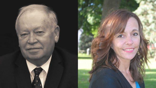 Incumbent Dennis Dolan and challenger Kristina Drake are running for 8th District Livingston County Commissioner.