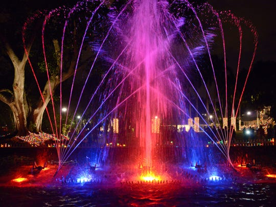 Waltzing Waters at The Edison & Ford Winter Estates