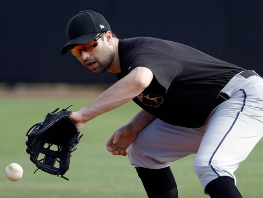 Neil Walker could play first base in Greg Bird's absence.