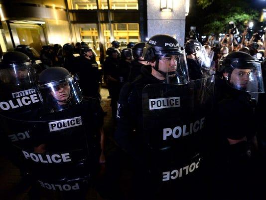 AP CHARLOTTE POLICE FATAL SHOOTING A USA NC