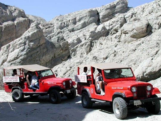 Desert Adventures takes guests on three-hour rides through some of the Coachella Valley's most breath-taking landscapes.
