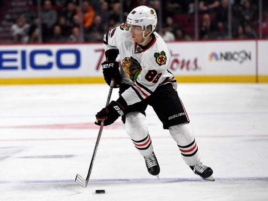 USP NHL: CHICAGO BLACKHAWKS AT MONTREAL CANADIENS S HKN MTL CHI CAN QU