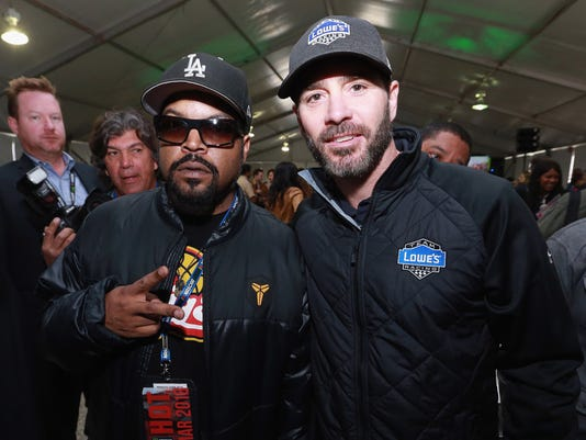 Johnson and Ice Cube