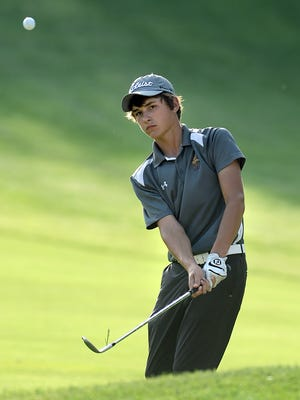 Former PIttsford resident Will Thomson at the 2015 SuperSectionals at Stafford Country Club on May 18, 2015.