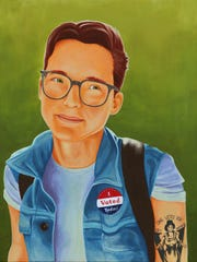 """""""They Voted,"""" by David Andersson."""