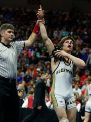 Matt Malcom, a 2016 state champ for Glenwood, won a Division II national title for Nebraska-Kearney this weekend.