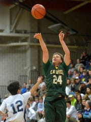 CMR's Sam Vining was one of the best 3-point shooters in the state this winter.