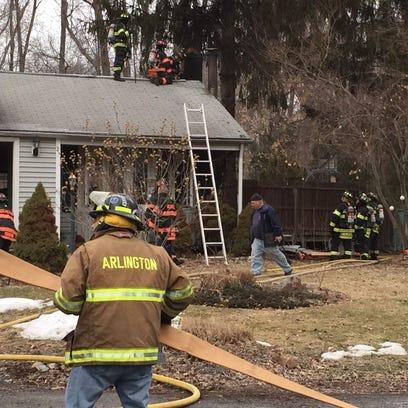 Ridgewood Terrace House fire