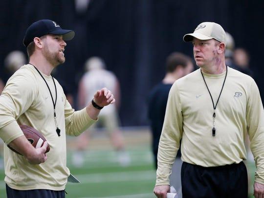 Co-offensive coordinator/quarterbacks coach Brian Brohm,