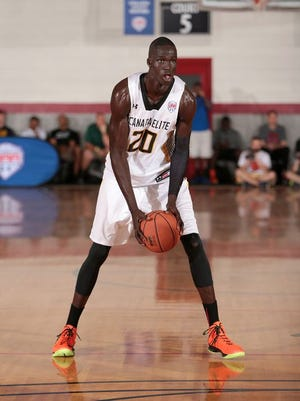 Five-star 2016 center Thon Maker at the Under Armour Finals.