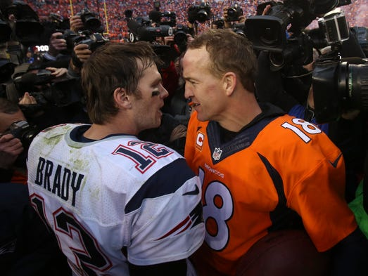 The faces of an NFL generation, Peyton Manning and