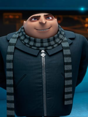 Gru (Steve Carell) gets back to work with his Minions in  'Despicable Me 2.'