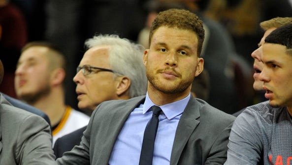 Punishment for Los Angeles Clippers forward Blake Griffin