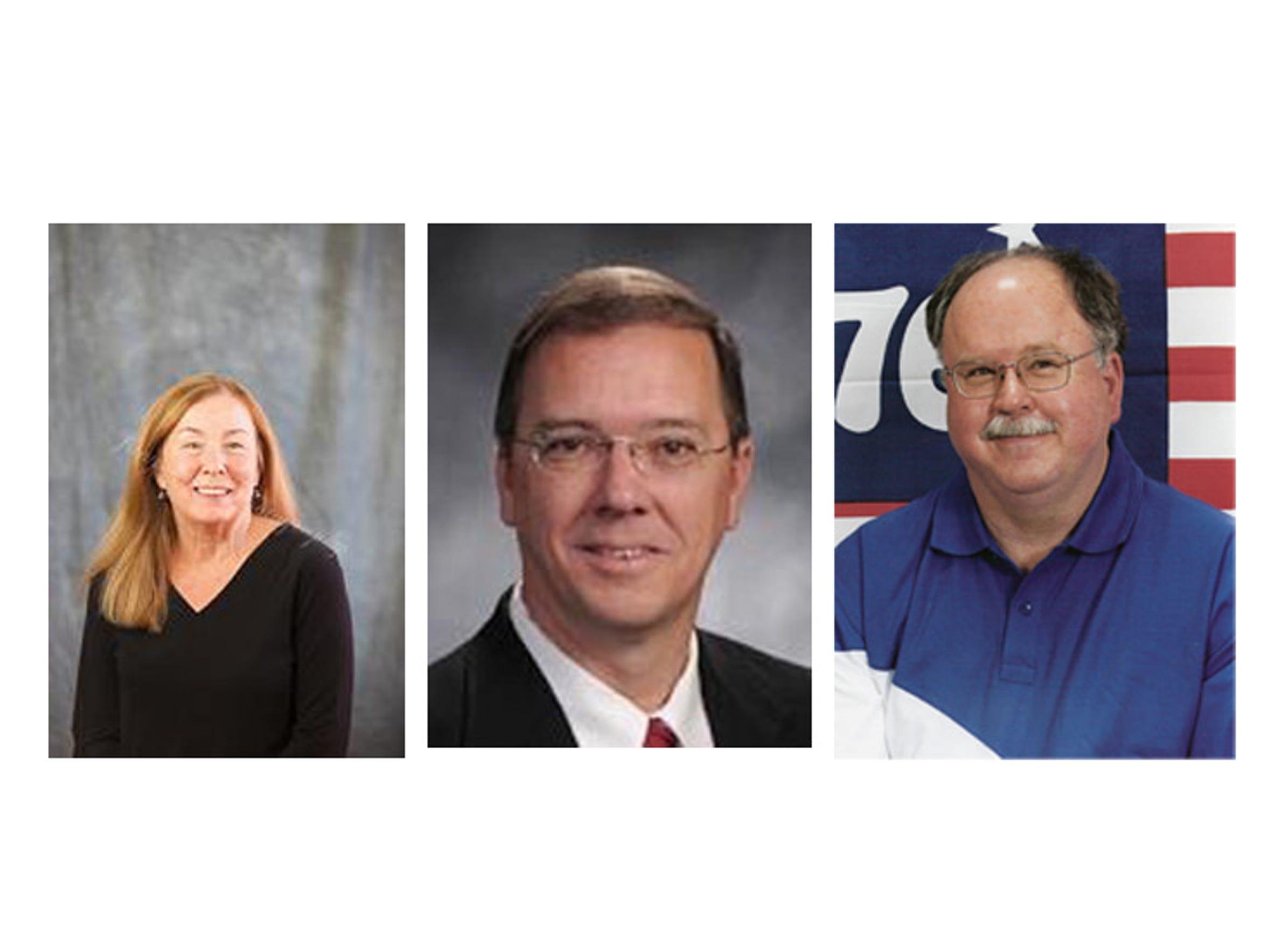 Sandy Grogan, Lyndall Fraker, Bill Boone