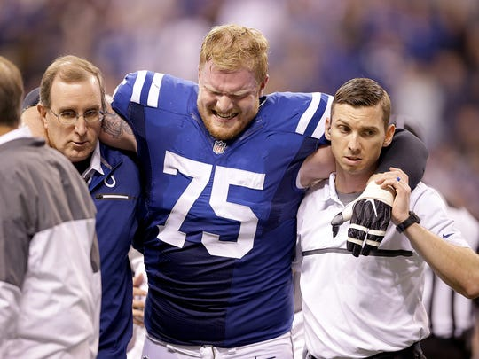 FILE – Jack Mewhort saw his 2016 season end early to