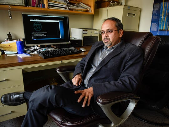 Tirthankar Ghosh, a professor of computer science and