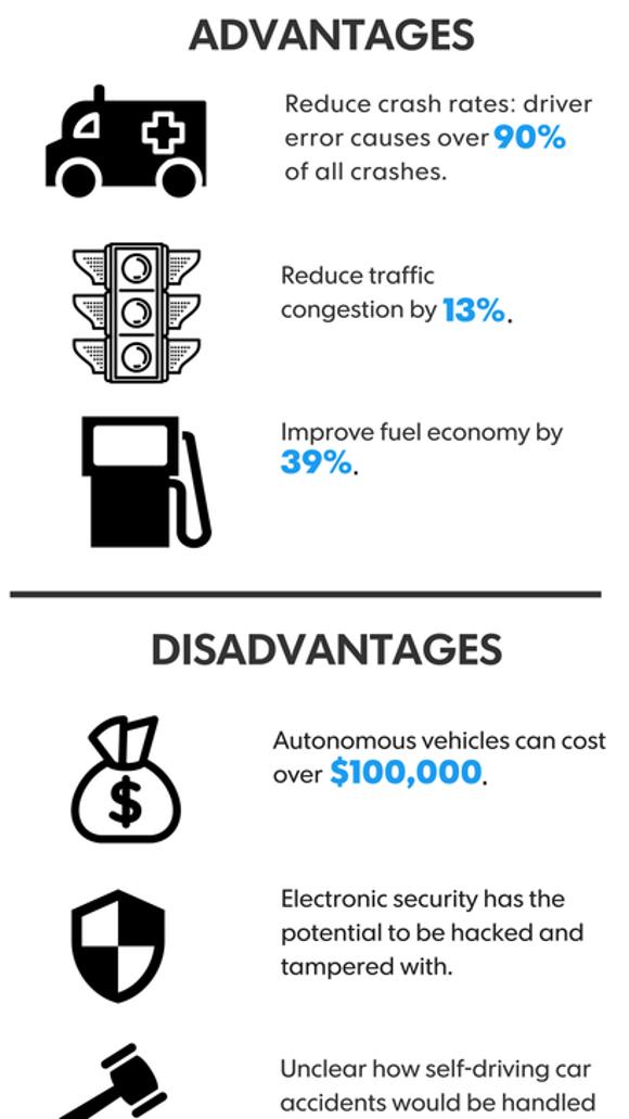 advantages of vehicles