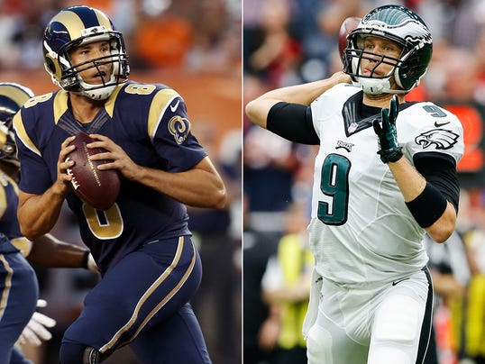 Sam Bradford and Nick Foles