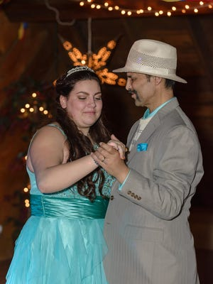 Sweet 16 party for Grace Gerchman whose friends raised nearly $4,000 to give her a wedding-style Sweet Sixteen party because her father is dying of liver cancer. Grace and her father, Michael, share a special dance together.