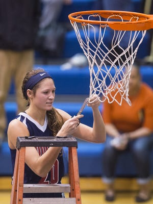 She's already cut down the nets following a Marion County title, will Roncalli's Lindsey Corsaro need the scissors again?