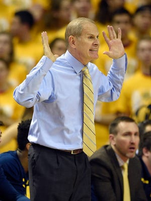 Michigan coach John Beilein