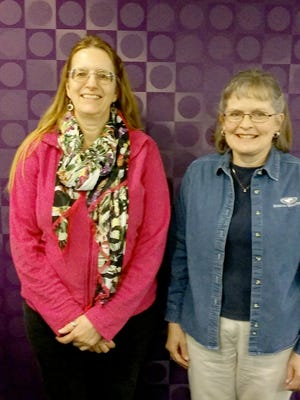 Tutors Laurene DalPezzo, left, and Suzanne Williamson both completed the YCLC Hanover training in April.