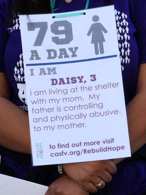 The story of a resident of the Center Against Sexual and Family Violence at the 79 A Day Rally in 2016.