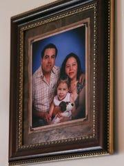 Eduardo Sanchez, Maria Ibrra and daughter Citalaly