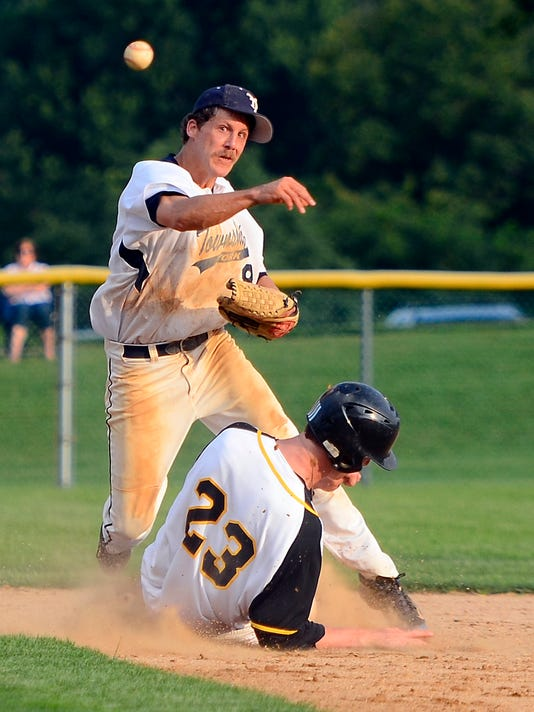 Stewartstown vs York Township Susquehanna League baseball playoffs