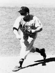 Detroit Tigers pitcher Virgil (Fire) Trucks threw two no-hitters during the 1952 season.