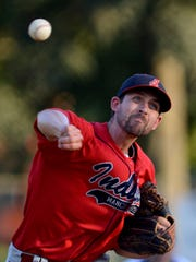 Manchester's Jason Kelly delivers against the Vikings,