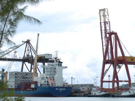 Jose D. Leon Guerrero Commercial Port
