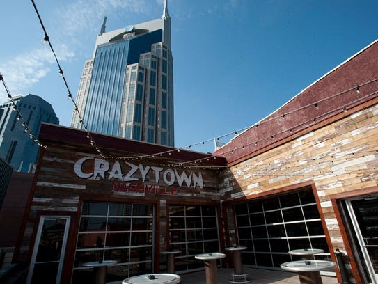 Crazy Town honky-tonk opened in May at 308 Broadway.