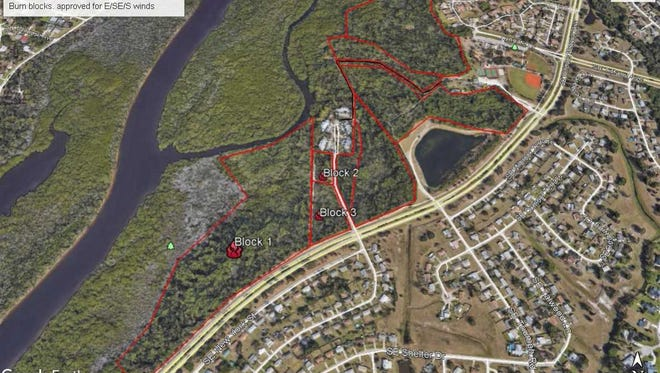 A prescribed burn is scheduled for Jan. 22 in St. Lucie County.