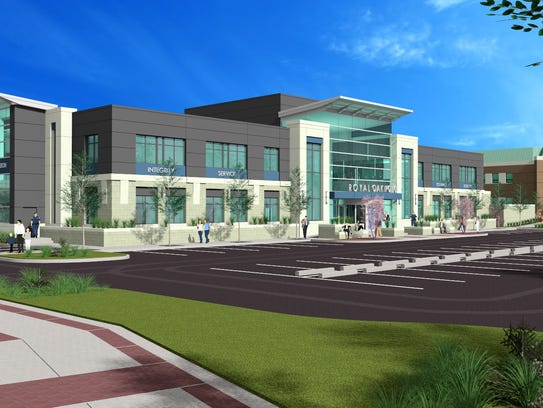 Rendering of the new proposed Royal Oak Police Department.