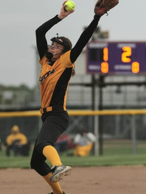 Sydney Studer dominated the area in pitching and was one of the best offensive players as well.