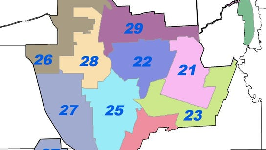 Committees in each of the legislative districts in