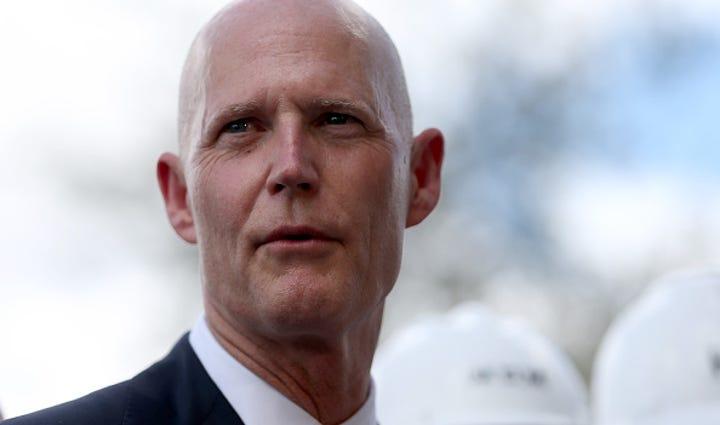 HIALEAH, FL - MARCH 09: Florida Governor Rick Scott