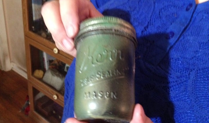Found jar
