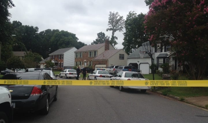 Va. Beach Police investigating a child's apparent drowning